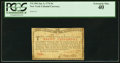 Colonial Notes:New York, New York January 6, 1776 (Water Works) 8s PCGS Extremely Fine 40.....
