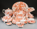 Ceramics & Porcelain, British:Contemporary   (1950 to present)  , A One Hundred and Forty-Eight Piece Royal Crown Derby RedAves Pattern Porcelain Dinner Service, Derby, England,...(Total: 148 Items)