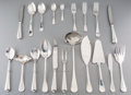 Silver & Vertu:Flatware, A One Hundred and Thirty-Piece Fracalanza Silver-Plated Flatware Service for Twelve, 20th century. Marks: (logotype), FRAC...