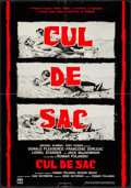 "Movie Posters:Thriller, Cul-de-sac (Columbia, 1967). Vertical Italian Photobusta (26.5"" X38""). Thriller.. ..."