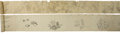 Asian:Japanese, Two Very Long Japanese Illustration Handscrolls Depicting VariousFlora and Fauna, Edo Period. 39 feet long (468 in) (1,188....(Total: 2 Items)