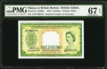World Currency, Malaya and British Borneo Commissioners of Currency $5 21.3.1953 Pick 2a.. ...