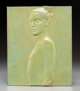 Robert Graham (1938-2008) Untitled, 2003 Copper relief 9-5/8 x 7-7/8 inches (24.4 x 20.0 cm) Ed. 4/10 Inscribed and