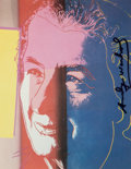 Fine Art - Work on Paper:Print, After Andy Warhol. Golda Meir, from Ten Portraits of Jewsof the Twentieth Century, 1980. Offset lithograph in color...