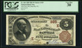 National Bank Notes:Pennsylvania, Danville, PA - $5 1882 Brown Back Fr. 466 The First NB Ch. #(E)325. ...