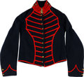 Militaria:Uniforms, Rare Civil War Regulation Artillery Musician's or Bugler's Shell Jacket....