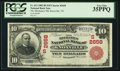 National Bank Notes:Tennessee, Knoxville, TN - $10 1902 Red Seal Fr. 613 The Mechanics NB Ch. #(S)2658. ...