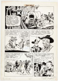 Dick Ayers Tim Holt #10 Complete 5-Page Story Original Art (Magazine Management, Comic Art