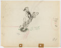 Animation Art:Production Drawing, Two-Gun Mickey Mickey Mouse Animation Drawing (Walt Disney,1934)...