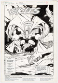 Original Comic Art:Splash Pages, Keith Giffen and Dave Hunt Dr. Fate #1 Splash Page OriginalArt (DC Comics, 1987)....