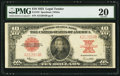 Large Size:Legal Tender Notes, Fr. 123 $10 1923 Legal Tender PMG Very Fine 20.. ...