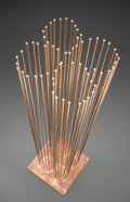 Post-War & Contemporary:Sculpture, Val Bertoia (American, b. 1949). 4 Leaf Sounds for Springtime(B-1994), 2017. 64 beryllium-copper rods silvered to brass...