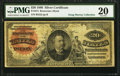 Large Size:Silver Certificates, Fr. 313 $20 1886 Silver Certificate PMG Very Fine 20.. ...