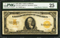 Large Size:Gold Certificates, Fr. 1173a* $10 1922 Gold Certificate PMG Very Fine 25.. ...