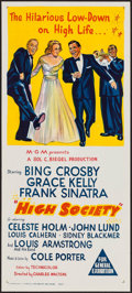 """Movie Posters:Musical, High Society (MGM, R-1960). Australian Daybill (13.5"""" X 30""""). Musical.. ..."""
