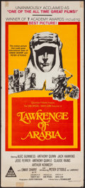 "Movie Posters:Academy Award Winners, Lawrence of Arabia (Columbia, R-1970s). Australian Daybill (13"" X30""). Academy Award Winners.. ..."