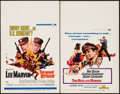 "Movie Posters:War, Sergeant Ryker & Other Lot (Universal, 1968). Window Cards (2)(14"" X 22""). War.. ... (Total: 2 Items)"