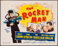 "Movie Posters:Science Fiction, The Rocket Man (20th Century Fox, 1954). Autographed Half Sheet (22"" X 28""). Science Fiction.. ..."