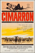 """Movie Posters:Western, Cimarron & Others Lot (MGM, 1960). One Sheets (6) (27"""" X 41"""")Title Lobby Cards (2) & Lobby Cards (14) ( (11"""" X 14"""").Wester... (Total: 22 Items)"""