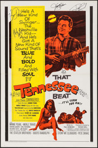 That Tennessee Beat & Others Lot (20th Century Fox, 1966). Autographed One Sheet & One Sheets (2) (27&qu...