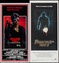 """Movie Posters:Action, Cobra & Others Lot (Warner Brothers, 1986). Australian Daybills(7) (12.75"""" X 26.5"""" - 13.5"""" X 30""""). Action.. ... (T..."""