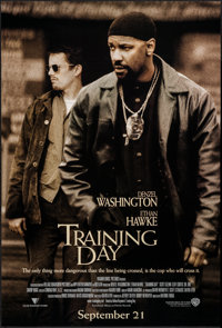 """Training Day & Others Lot (Warner Brothers, 2001). One Sheets (3) (27"""" X 40"""" & 27"""" X 41&q..."""