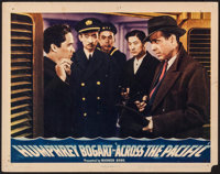 """Across the Pacific (Warner Brothers, 1942). Lobby Card (11"""" X 14""""). War"""
