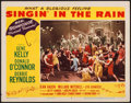 "Movie Posters:Musical, Singin' in the Rain (MGM, 1952). Lobby Card (11"" X 14""). Musical.. ..."