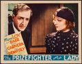 """Movie Posters:Romance, The Prizefighter and the Lady (MGM, 1933). Lobby Card (11"""" X 14"""").Romance.. ..."""