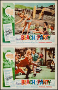 Movie Posters:Comedy, Beach Party (American International, 1963). Autogr...