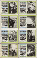 "Movie Posters:Drama, Whistle Down the Wind (Pathé-America, 1962). Autographed Lobby Card Set of 8 (11"" X 14""). Drama.. ... (Total: 8 Items)"