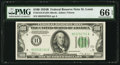 Small Size:Federal Reserve Notes, Fr. 2154-H $100 1934B Federal Reserve Note. PMG Gem Uncirculated 66 EPQ.. ...