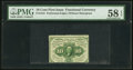 Fractional Currency:First Issue, Fr. 1241 10¢ First Issue PMG Choice About Unc 58 EPQ.. ...