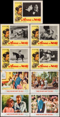 """Movie Posters:Musical, When the Boys Meet the Girls & Others Lot (MGM, 1965). Lobby Cards (15) (11"""" X 14""""). Musical.. ... (Total: 15 Items)"""