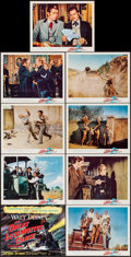 """Movie Posters:Action, The Great Locomotive Chase (Buena Vista, 1956). Lobby Card Set of 9(11"""" X 14""""). Action.. ... (Total: 9 Items)"""