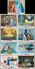 "Movie Posters:Animation, The Sword in the Stone (Buena Vista, 1963). Very Fine-. Lobby Card Set of 9 (11"" X 14"") with Original Studio Envelope. Anima... (Total: 10 Items)"