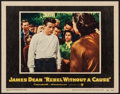 "Movie Posters:Drama, Rebel without a Cause (Warner Brothers, 1955). Lobby Card (11"" X14""). Drama.. ..."
