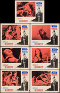 "Movie Posters:Foreign, The Girl in the Bikini (Atlantis Films, 1958). Lobby Cards (7) (11""X 14""). Foreign.. ... (Total: 7 Items)"