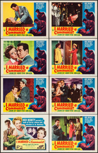 "I Married a Communist (RKO, 1949). Lobby Card Set of 8 (11"" X 14""). Film Noir. ... (Total: 8 Items)"