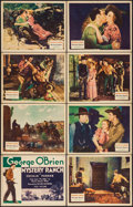 """Movie Posters:Western, Mystery Ranch (Fox, 1932). Lobby Card Set of 8 (11"""" X 14""""). Western.. ... (Total: 8 Items)"""