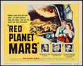 """Movie Posters:Science Fiction, Red Planet Mars (United Artists, 1952). Title Lobby Card (11"""" X14""""). Science Fiction.. ..."""