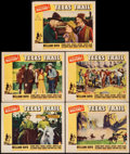 "Movie Posters:Western, Texas Trail (Paramount, 1937). Lobby Cards (5) (11"" X 14""). Western.. ... (Total: 5 Items)"