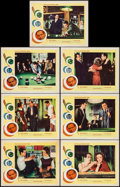 "Movie Posters:Drama, The Hustler (20th Century Fox, R-1964). Lobby Cards (7) (11"" X 14""). Drama.. ... (Total: 7 Items)"