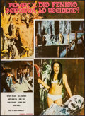 "Movie Posters:Horror, Tower of Evil (Fanfare, 1973). Italian Vertical Photobusta (26.5"" X 36.25""). Horror.. ..."