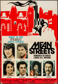 "Movie Posters:Crime, Mean Streets (C.I.P.D., 1975). Vertical Italian Photobustas (2)(25.5"" X 37""). Crime.. ... (Total: 2 Items)"
