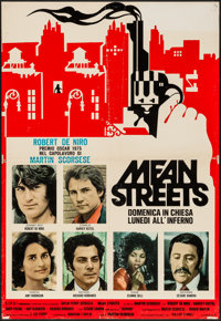"Mean Streets (C.I.P.D., 1975). Vertical Italian Photobustas (2) (25.5"" X 37""). Crime. ... (Total: 2 Items)"