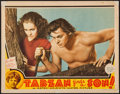 """Movie Posters:Adventure, Tarzan Finds a Son (MGM, 1939). Lobby Card (11"""" X 14""""). Adventure....."""