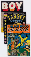 Golden Age (1938-1955):Miscellaneous, Comic Books - Assorted Restored Golden Age Comics Group of 5 (Various Publishers, 1940s-50s).... (Total: 5 Comic Books)