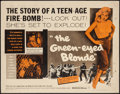 """Movie Posters:Bad Girl, The Green-Eyed Blonde (Warner Brothers, 1957). Half Sheet (22"""" X28""""). Bad Girl.. ..."""