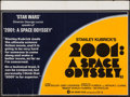 """Movie Posters:Science Fiction, 2001: A Space Odyssey (MGM, R-1978). Folded, Fine/Very Fine.British Quad (30"""" X 40""""). Science Fiction.. ..."""